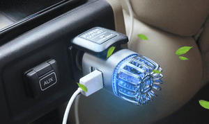 2-in-1 Car Air Purifier and Charger