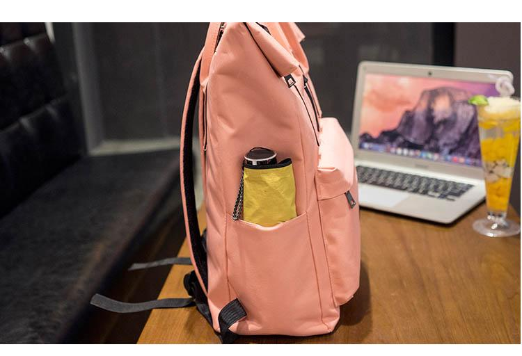 Women Laptop Backpack with USB Port. Canvas. - BagTrack
