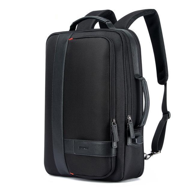 "Anti-Theft Business Laptop Backpack with USB Port (15.6""). Nylon. - BagTrack"