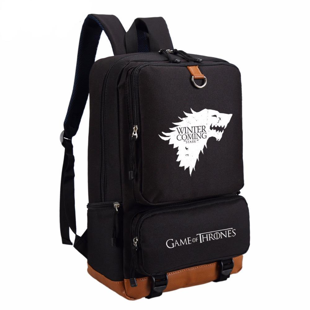 Limited Edition Game of Thrones Fashion Backpack. Oxford Fabric. - BagTrack