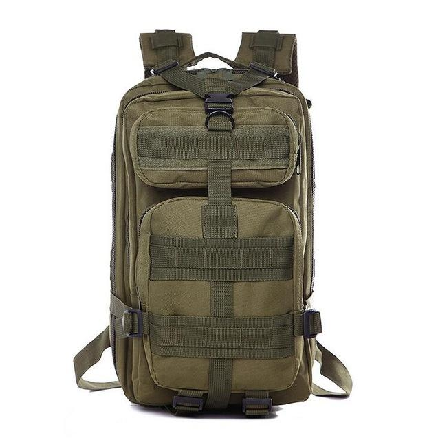 Tactical Military Backpack (25L). Oxford Fabric. - BagTrack