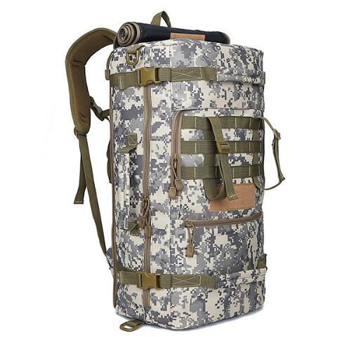 Multifunctional Mountaineering Backpack. Canvas. - BagTrack