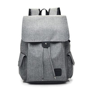 "Fashion Backpack with USB Port (15.6""). Canvas. - BagTrack"