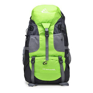 Waterproof Hiking Bag (50L). Nylon. - BagTrack