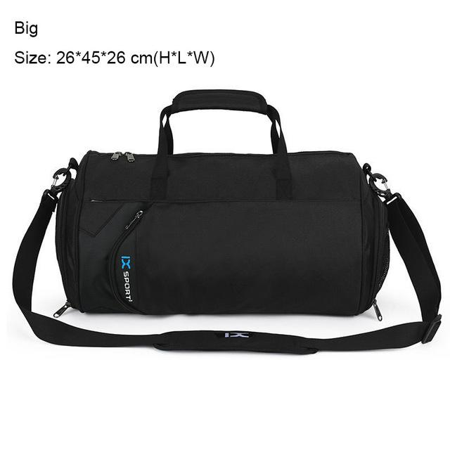 Gym Bag with Shoes Storage. Nylon. - BagTrack