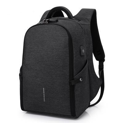 "Fashionable Anti-Theft USB Backpack (15.6""). Oxford Fabric. - BagTrack"