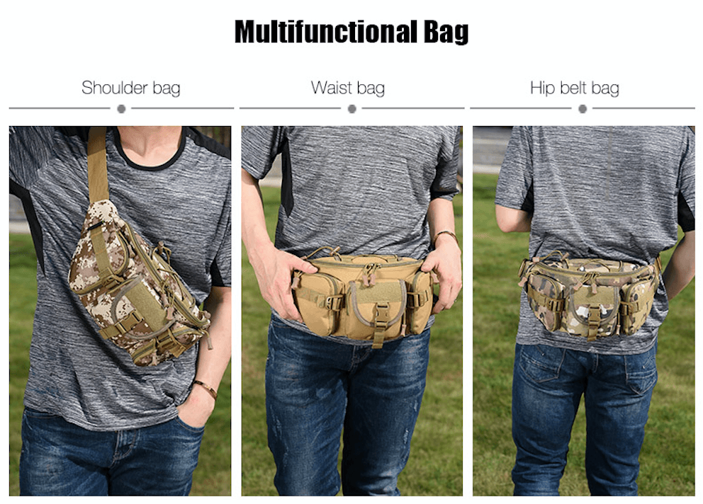 Waterproof Fanny Pack. Nylon. - BagTrack