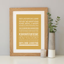 'Friends' The Tv Show Quote Print