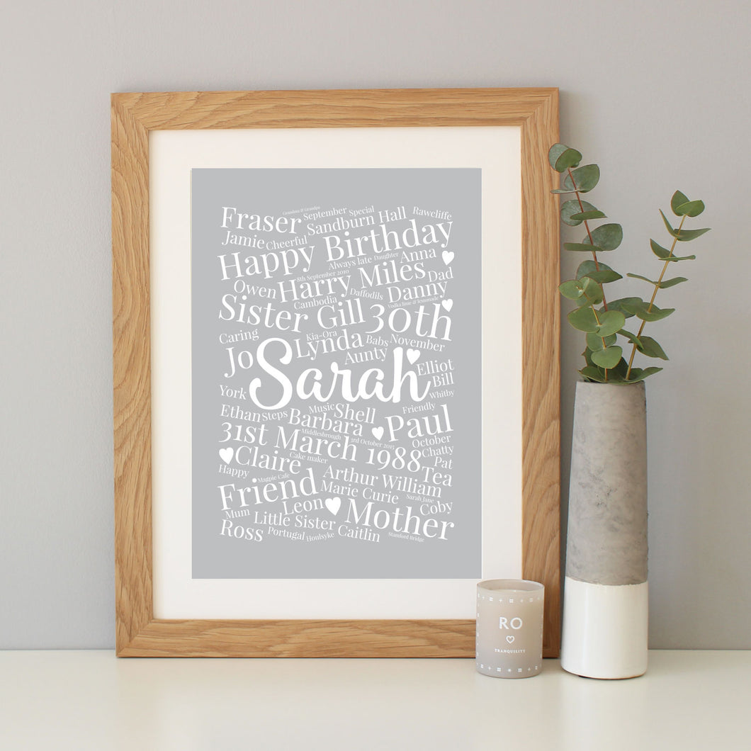 Personalised Birthday Gift