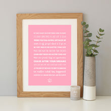 'My Dog Taught Me' Quote Print