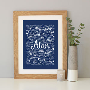 Personalised 80th Birthday Gift