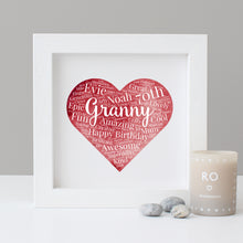 Personalised Watercolour 70th Birthday Gift