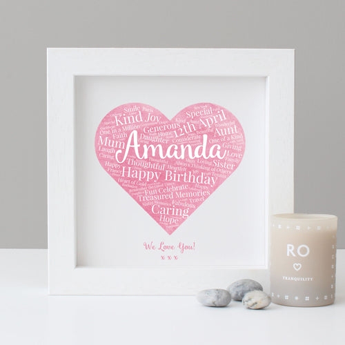 Personalised Watercolour Birthday Gift