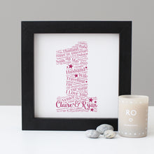 Personalised 'Paper' 1st Anniversary Print