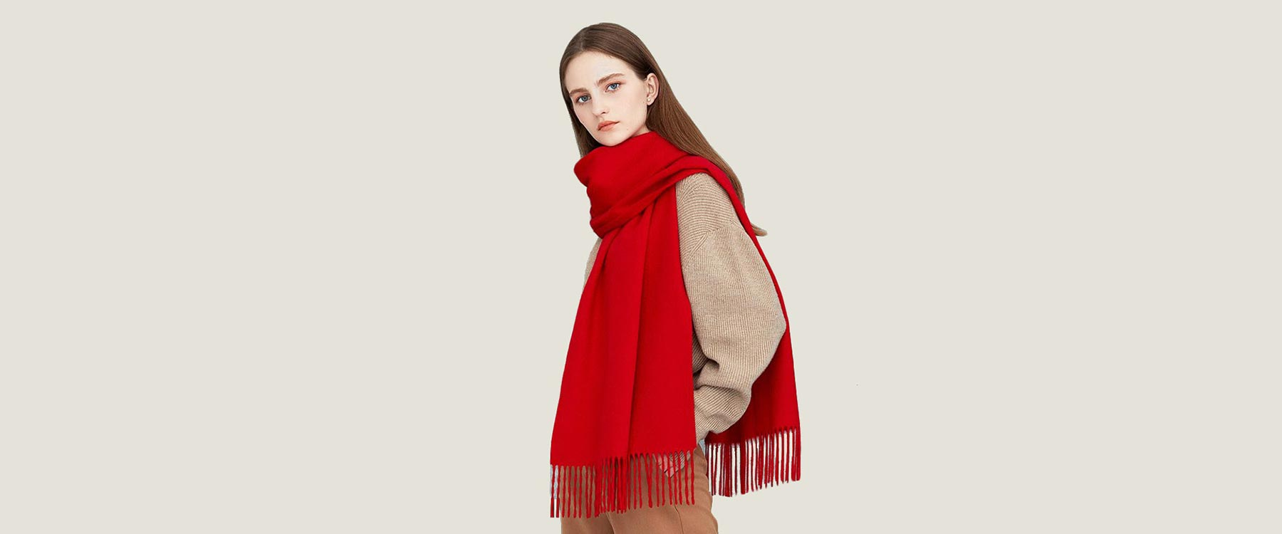 Women's Classic Cashmere Scarf
