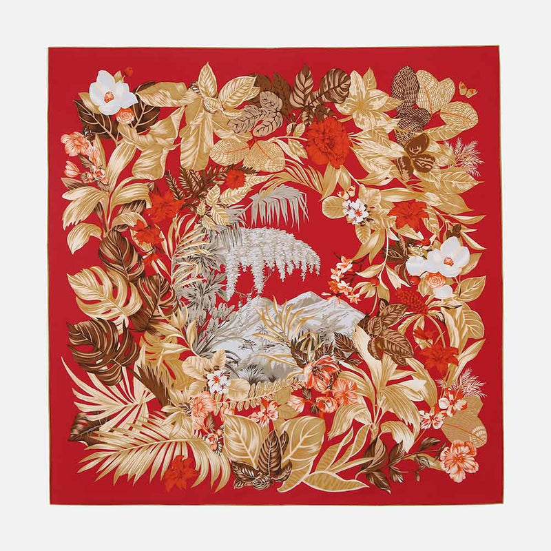 Redmoon Silk Scarf