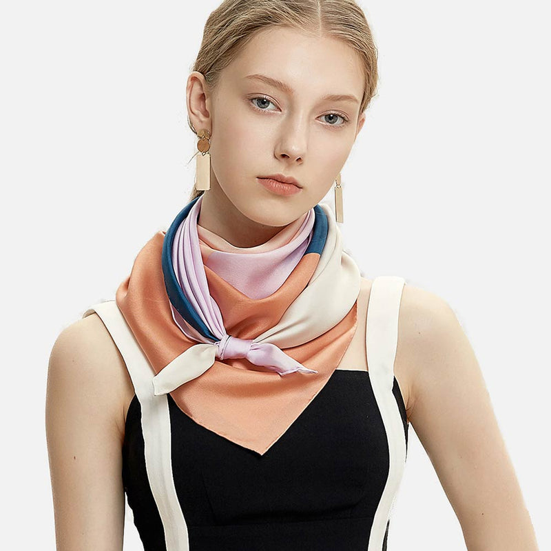 Cali Sunrise Silk Scarf