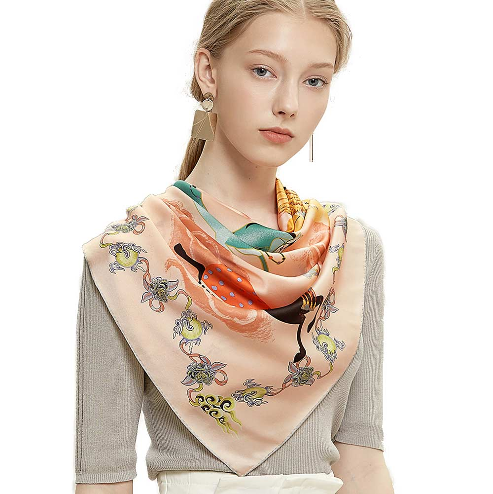 Ride the Cloud Silk Scarf