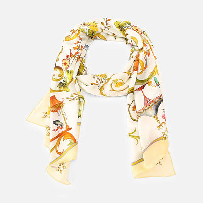 Melody Silk Scarf