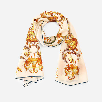 The Poem Silk Scarf
