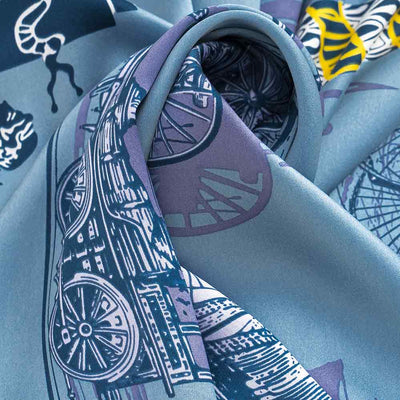 City of Light Silk Scarf 86