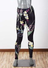 Bamboo Kitty Fashion Women Elastic Workout Leggings Pants High Waist Floral Printed Sporting Movement Leggins Activewear Yuga Pants Leggings