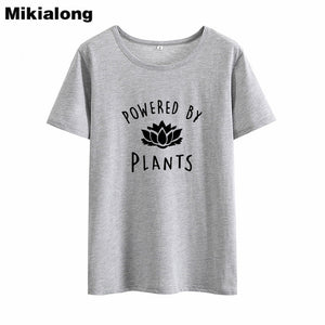 Vegan T Shirt Women  Tee Shirt Femme Cotton T-shirt