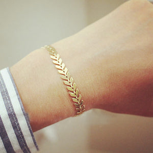 Gold And Silver Airplane Bracelets for Women