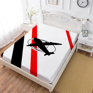 Airplane Bed Sheet