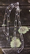 Paper Clip Link Chain Necklace, Rowena Watson Designs