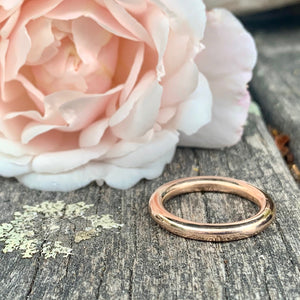 9ct Rose Gold Ring, Rowena Watson Designs