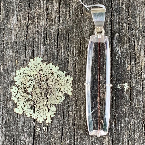 Copper Rutilated Quartz Pendant, Rowena Watson Designs