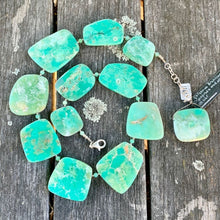 Hand-Cut Chrysoprase Necklace, Rowena Watson Designs