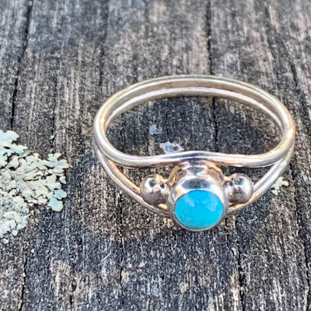 Sleeping Beauty Turquoise Ring, Rowena Watson Designs