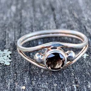 Smokey Quartz Ring, Rowena Watson Designs