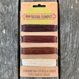 Hemp Cord, Bronze Shades, 10lb