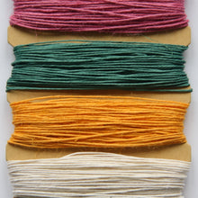 Hemp Cord, Spring Colours, 10lb