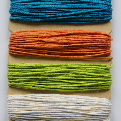 Hemp Cord, Bright Colours, 20lb