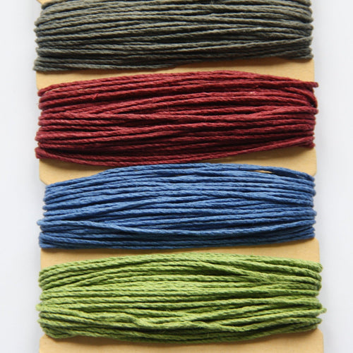 Hemp Cord, Dark Shades, 20lb