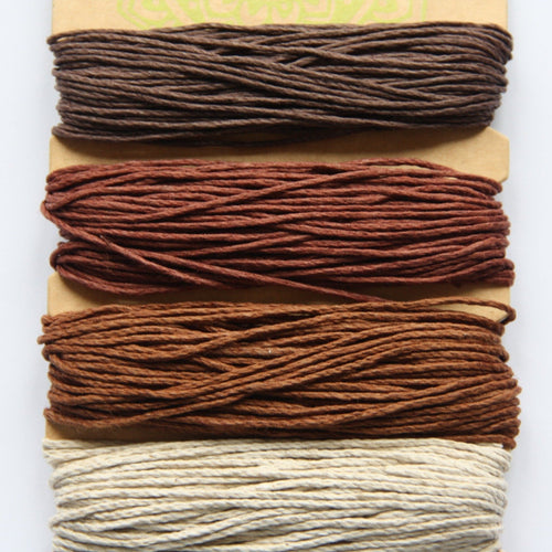 Hemp Cord, Bronze Shades, 20lb