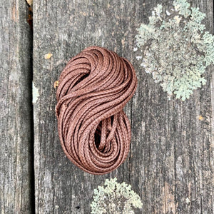 1.7mm Brown Waxed Thread, 5 Metres