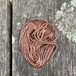 1.2mm Brown Waxed Thread, 5 Metres