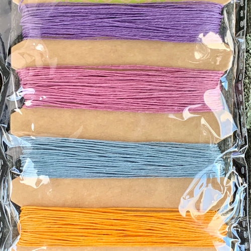 Hemp Cord, Pastel Colours, 10lb