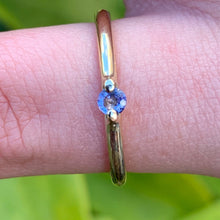 Tanzanite and 9ct Yellow Gold Ring, Rowena Watson Designs