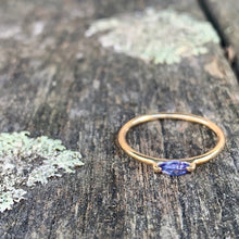 9ct Gold Tanzanite Ring, Rowena Watson Designs