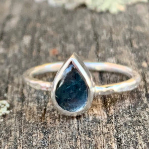 Blue-Green Tourmaline Ring, Rowena Watson Designs