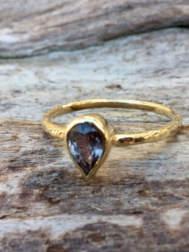 9ct Yellow Gold and Sapphire Ring, Rowena Watson Designs
