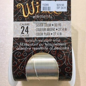 Non Tarnish Wire, Silver 24g