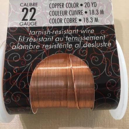 Non Tarnish Wire, Copper 22g