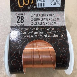 Non Tarnish Wire, Copper 28g